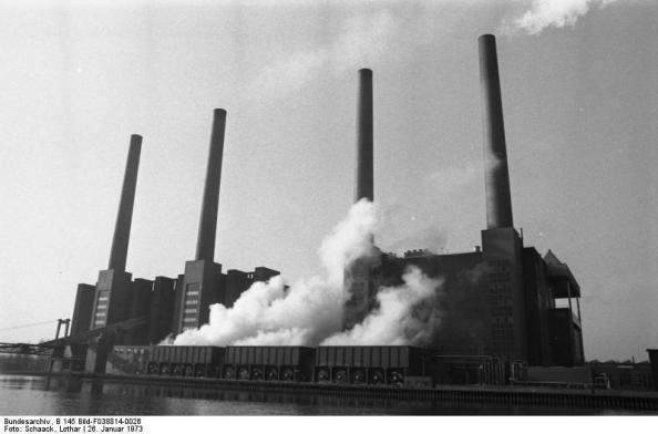 Wolfsburg, VW Autowerk, Kraftwerk
